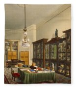 The Secretarys Room, Apsley House Fleece Blanket