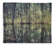 The Sentient Forest Fleece Blanket
