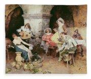 The Serenade Fleece Blanket
