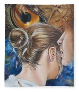 The Seven Spirits Series - The Spirit Of Counsel Fleece Blanket