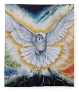 The Seven Spirits Series - The Spirit Of The Lord Fleece Blanket