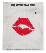 The Seven Year Itch Fleece Blanket