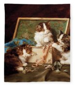 The Sewing Box Fleece Blanket
