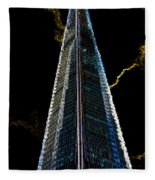 The Shard London Art Fleece Blanket