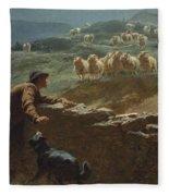 The Sheepstealer Fleece Blanket