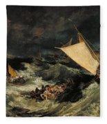 The Shipwreck Fleece Blanket
