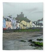 The Shores Of Ireland Fleece Blanket