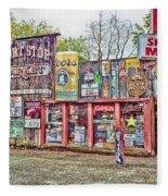 The Short Stop In Kent Washington Fleece Blanket