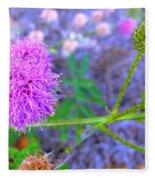 The Shy Plant Fleece Blanket