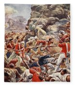 The Siege Of Delhi, 1857 Storming Fleece Blanket