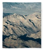 The Sierra Nevadas Fleece Blanket