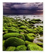 The Silence After The Storm Fleece Blanket