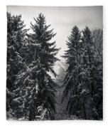 The Silent Season Fleece Blanket