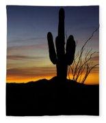 The Simple Beauty Of A Sunrise  Fleece Blanket