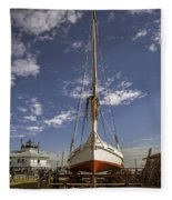 The Skipjack Rosie Parks Fleece Blanket