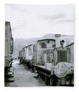 The Steam Train Fleece Blanket