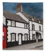 The Smallest House In Great Britain Fleece Blanket