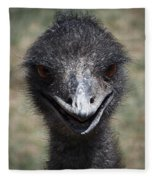 The Smile Fleece Blanket
