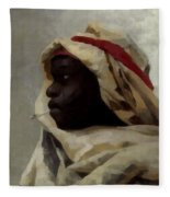 The Smoking Moor Fleece Blanket