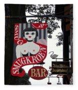 The Smugkroen Bar Fleece Blanket