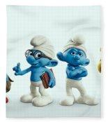 The Smurfs Movie Fleece Blanket