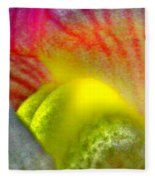 The Snapdragon - Flower Fleece Blanket