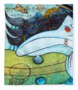 The Song Of The Mermaid Fleece Blanket