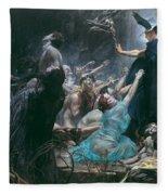 The Souls Of Acheron Fleece Blanket