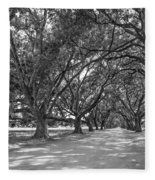 The Southern Way Bw Fleece Blanket