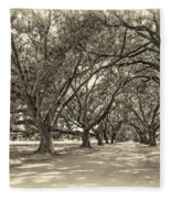 The Southern Way Sepia Fleece Blanket