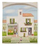 The Spanish Greengrocer, 1981 Fleece Blanket