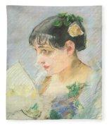 The Spanish Woman Fleece Blanket
