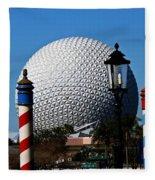 The Sphere Fleece Blanket