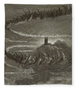 The Spirits In Jupiter Fleece Blanket