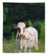 The Spotted Cow Fleece Blanket