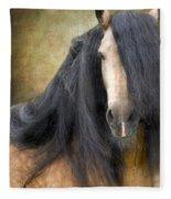 The Stallion Fleece Blanket