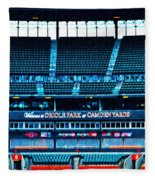 The Stands At Oriole Park Fleece Blanket