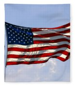 The Star Spangled Banner Fleece Blanket