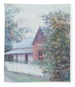The Stationmaster's Cottage Fleece Blanket