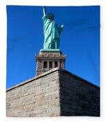 The Statue Fleece Blanket