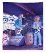 The Steepwater Band Fleece Blanket