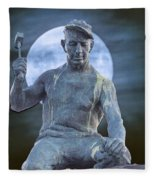 The Stone Mason Fleece Blanket