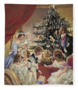 The Story Of The Christmas Tree Fleece Blanket