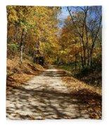 The Straight Road Fleece Blanket