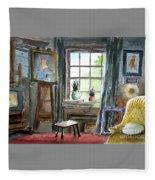 The Studio Of Juliet Pannett Fleece Blanket