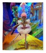 The Sugarplum Fairy Fleece Blanket