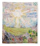 The Sun Fleece Blanket