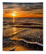 The Sunset Fleece Blanket