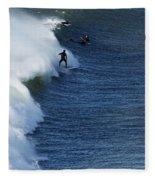The Surfer  Fleece Blanket