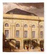 The Surrey Theatre, London, 1826 Fleece Blanket